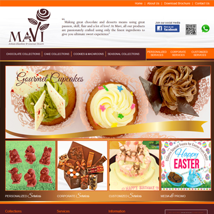 Screenshot of www.mavi.com.hk